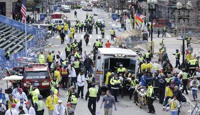 Ataque terrorista en Boston dejó tres muertos y decenas de heridos