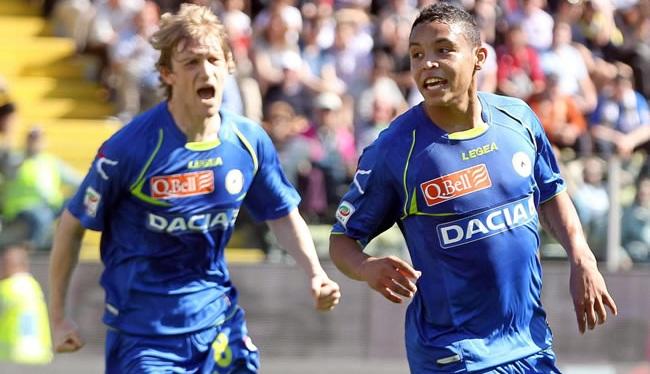 Doblete de Luis Fernando Muriel en la victoria del Udinese