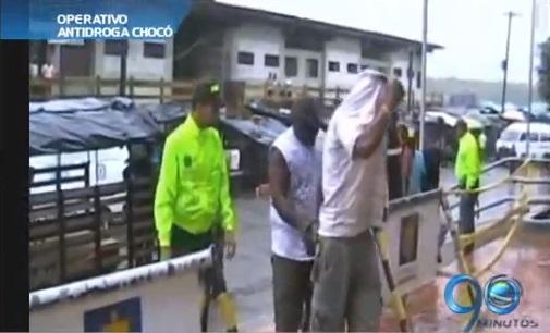 Golpe al microtráfico en Chocó