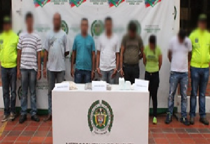 Golpe a banda criminal 'Los Rastrojos' en Trujillo, Valle