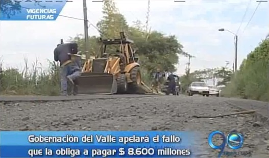 Gobernación apelará fallo que la obliga a pagar 8.600 millones de pesos