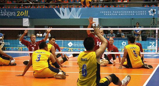 Sel. Colombia de voleibol sentado participa en Juegos Paracentroamericanos