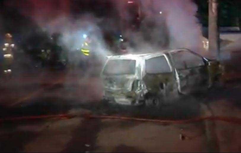 Accidente de tránsito dejó seis personas heridas