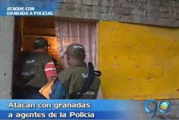 Atacan con granada a policías en Florida, Valle