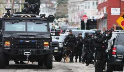 Policía de Boston captura al segundo sospechoso del ataque terrorista