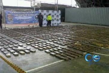 Armada Nacional incautó una tonelada de cocaína en el Pacífico