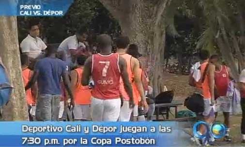 Ante el Dépor, Cali pretende ratificar esta noche su liderato en Copa