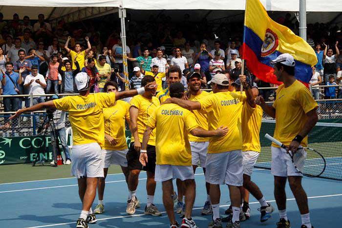 Colombia enfrentará a Japón por cupo al grupo mundial de Copa Davis