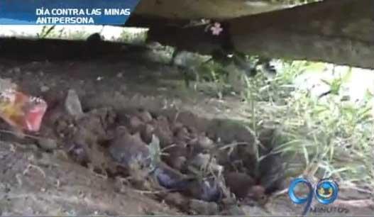En el Valle del Cauca habría más de 300 víctimas de minas antipersona
