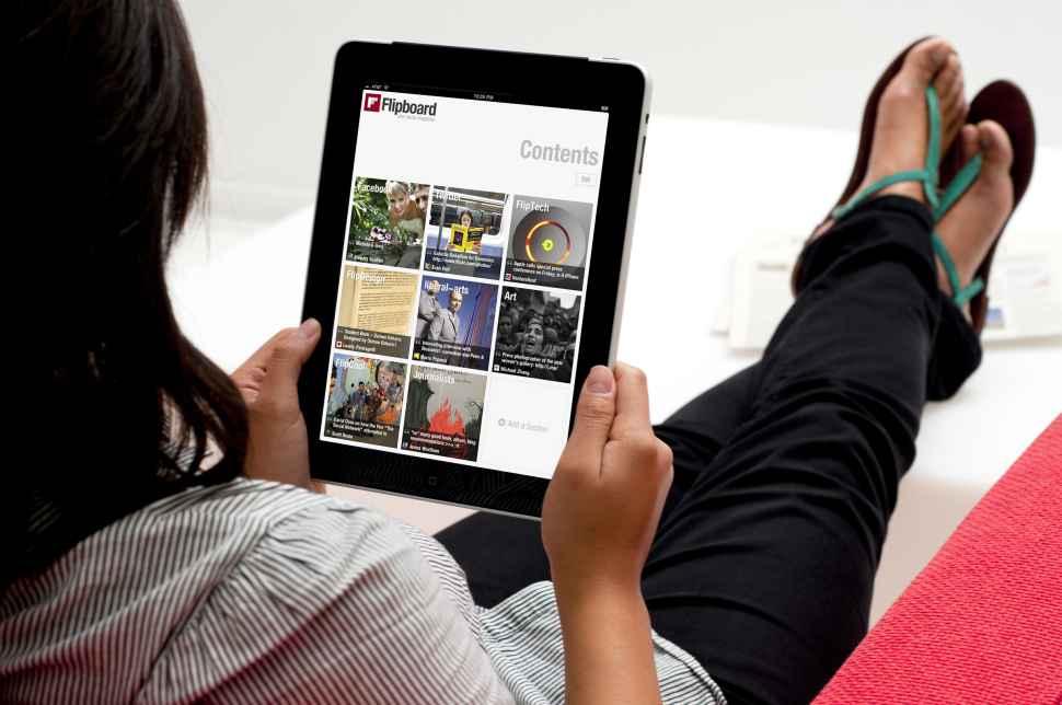 Nueva versión de FlipBoard permite crear revistas virtuales