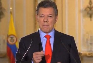 """""""Proceso de paz con Eln se hará más pronto que tarde"""": Santos"""