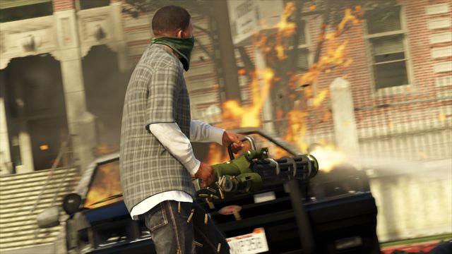 El videojuego 'Grand Theft Auto V' revela sus nuevas imágenes