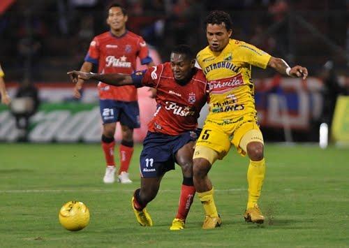 Goles y posiciones en la fecha 11 de la liga colombiana