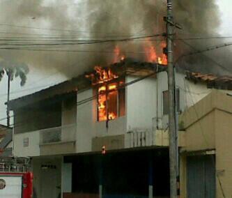 Se quemó un juzgado en Toro, al norte del Valle