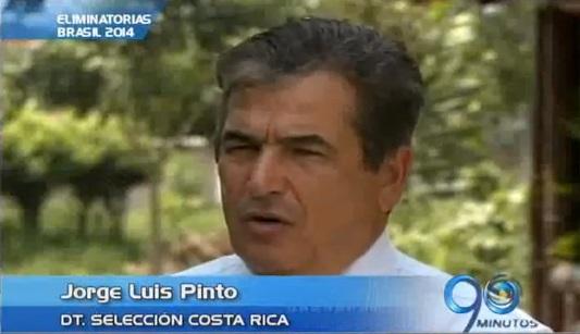 Jorge Luis Pinto invitado a seminario de fútbol en Puerto Tejada