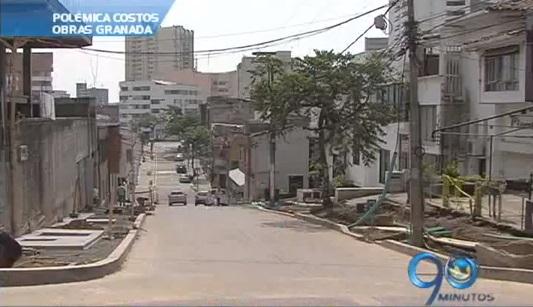 Polémica por altos costos de las obras del barrio Granada