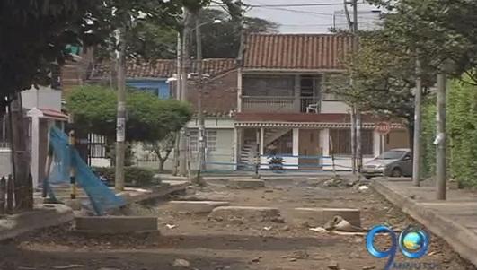 Habitantes de los barrios Calipso y Departamental, reclaman culminación de obras