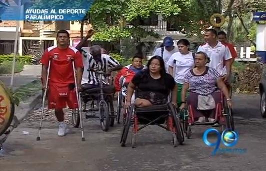 Indervalle entregó incentivos económicos a deportistas discapacitados