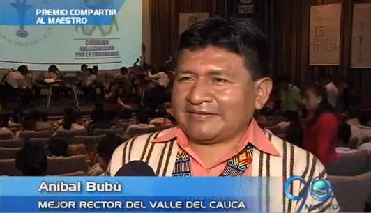 Un indígena fue elegido como el mejor rector del Valle del Cauca