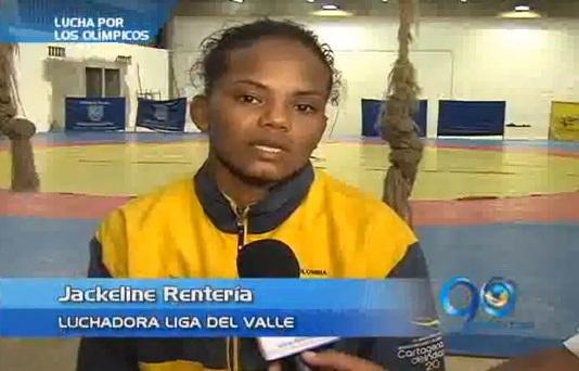 Jackeline Rentería encabeza delegación en Panamericano de Lucha
