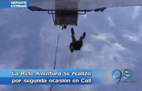 El reto aventura se cumplió por segunda ocasión en Santiago Cali