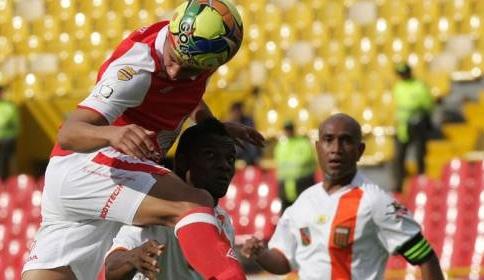 Santa Fe volvió al liderato y Medellín sigue en el descenso directo