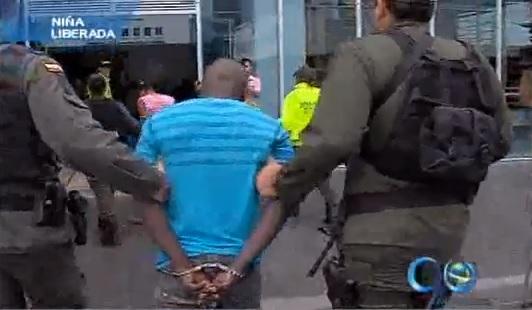 Gaula de la Policía rescata niña de 5 años en Cali