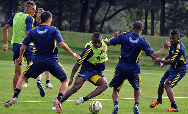 Selección Colombia Sub-20 ya trabaja completa en Bogotá