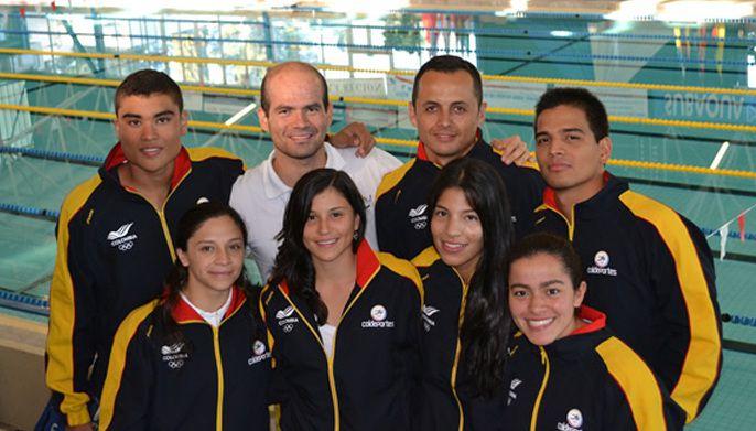 Seis medallas para Colombia en Copa Mundo de Natación con aletas