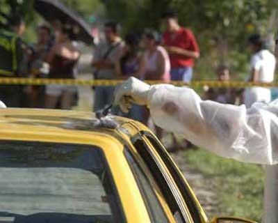 Sicarios asesinan a taxista en zona de ladera