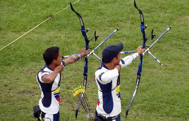 Delegación colombiana viajó al campeonato internacional de tiro con arco