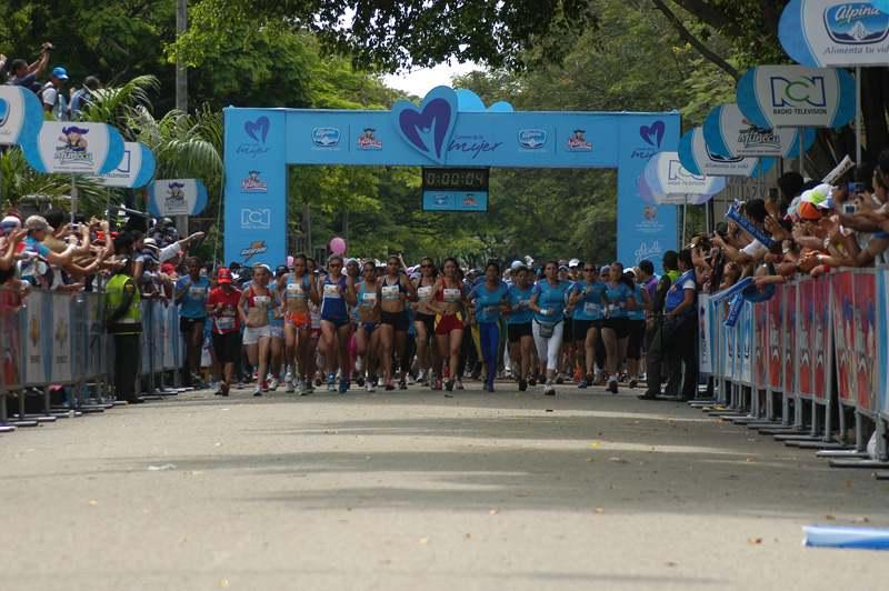 Las mujeres de la capital del Valle correrán en la Carrera de la Mujer