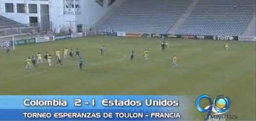 Colombia derrotó a EE.UU en el torneo Esperanzas de Toulon