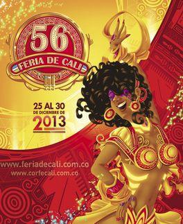 La Feria de Cali en su versión 56 ya tiene afiche
