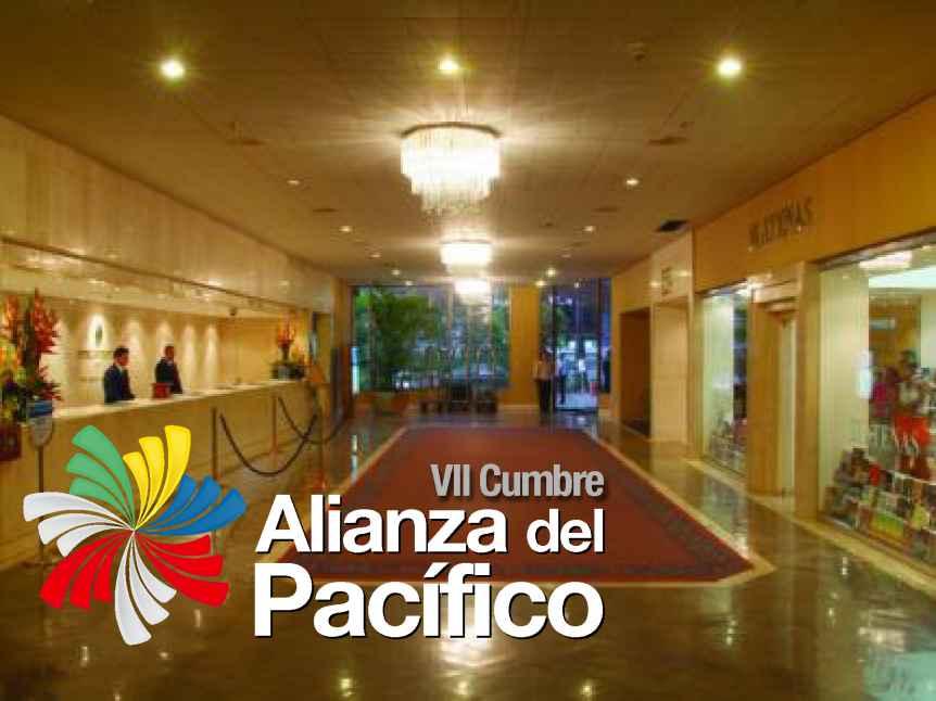 Alianza del Pacífico: Hoteles esperan más de 3.500 personas