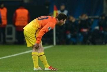 Messi estará inactivo varias semanas y no jugaría ante Colombia
