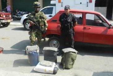 Ejército propina golpe al narcotráfico en el Cauca