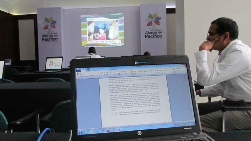 Alianza del Pacífico: los periodistas también son protagonistas