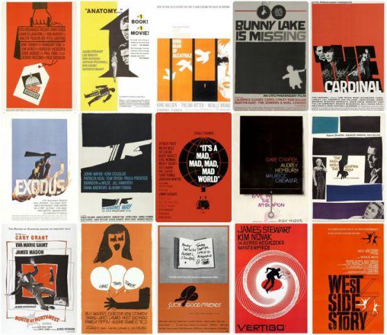 Google le rinde homenaje al maestro del póster Saúl Bass