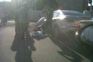 Imprudencia de una buseta deja dos heridos al sur de Cali