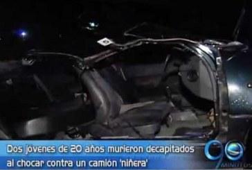 Trágico accidente de tránsito en la vía al aeropuerto Alfonso Bonilla Aragón