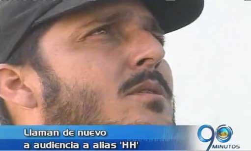 Nueva audiencia al jefe paramilitar alias 'HH' por delitos no confesados