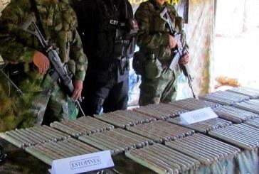 Hallan explosivos dentro de encomienda que iba al Cauca