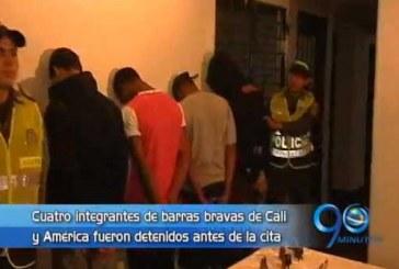 Policía frustró enfrentamiento entre barras bravas de Cali y América
