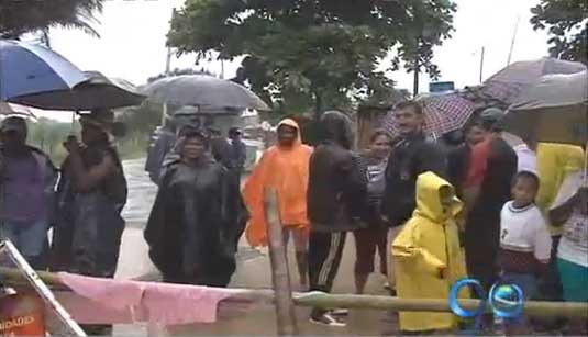 Bloquean el acceso a la cárcel de Jamundí