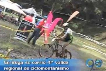 En una pista de barro se corrió válida de ciclomontañismo en Buga