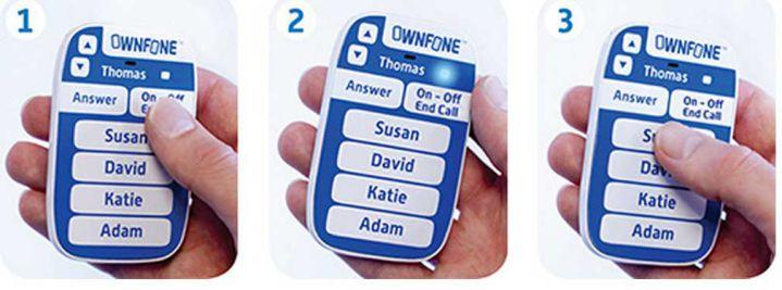 Empresa inglesa vende el 1stFone, un celular solo para niños