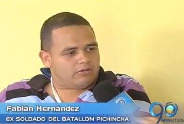 Ex soldado sufre por culpa de error en procedimiento médico
