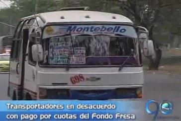 Transportadores tradicionales rechazan pago en cuotas por chatarrización