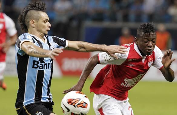 Con la derrota 2-1 frente al equipo brasileño Gremio, el Santa Fe perdió su invicto